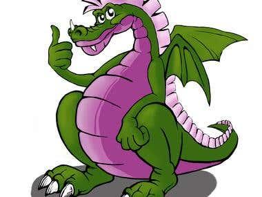 Dragon for kids