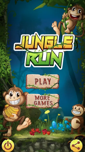 Jungle Monkey Survival: Free Run Game