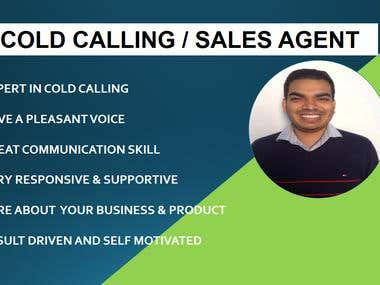 COLD CALLING / SALES AGENT