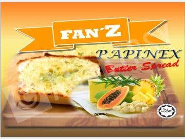 Food Packaging Design (Fruit Butter Spread)
