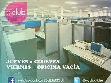 AFICHES PARA EL CLUB