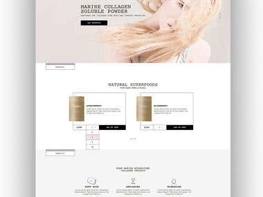 UI / UX website