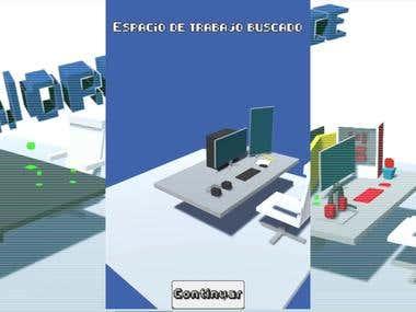 worknspace TLP Winter Game Jam 3 days dev