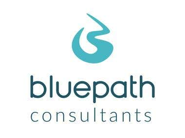 Imagotipo para Bluepath consultants