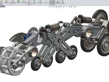 Product Drsign and 3D Modeling by usign SolidWorks
