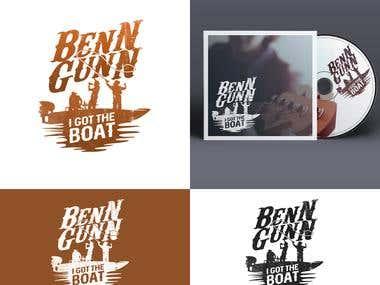 """Brand identity for the """" Benn Gunn """" Album"""