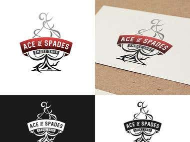 "Logo Design for "" Ace of Spades "" Company"