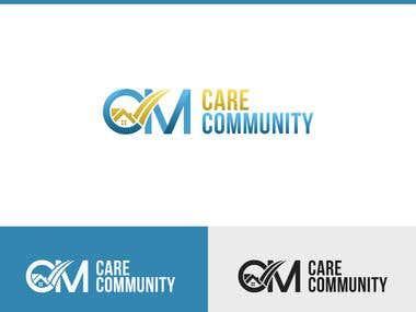 "Brand Design For "" Care Community "" Company"