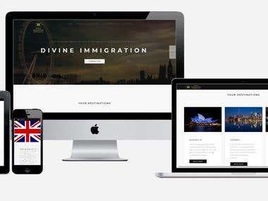 Immigration Consultant Website