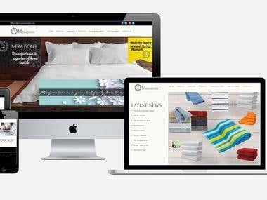 Texttile Website