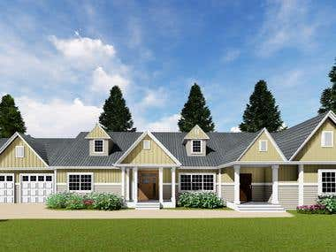 Exterior Home Design of United States