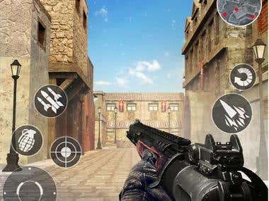 Unity 3D Shooting Game
