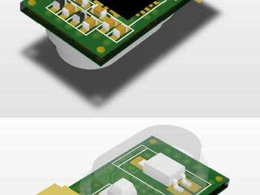 Electronic Shelf Label Sensor Board (Intersil Sensor)