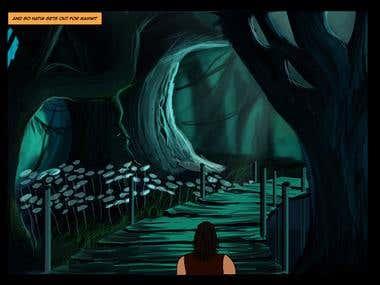 Digital Paintings for Children story books