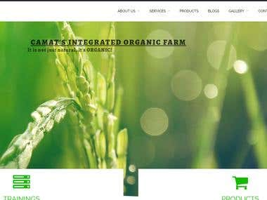 E - Commerce Website ( camatorganics.com)