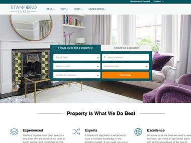 UK Real Estate website