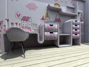 2013-Design and Realisation-Kids room