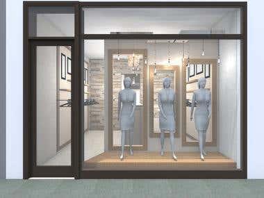 2016-Interior deisgn-Clothing store