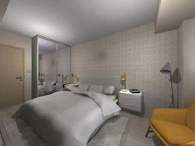 2018-Interior design-Apartment