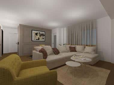 2019-Interior design-Apartment
