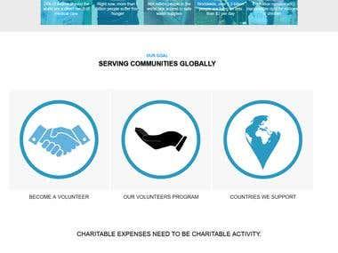 NGO website Wordpress