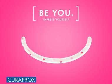CURAPROX - BE YOU - DM design campaign