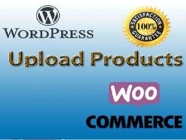 WordPress Product Upload