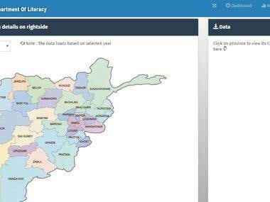 Web application for managing Literacy schools