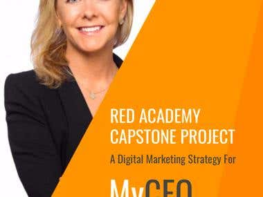 Digital Marketing Strategy: MyCEO