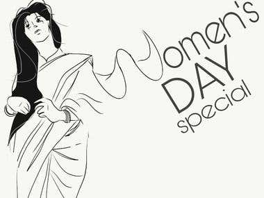 Sketch (Women Day Special)