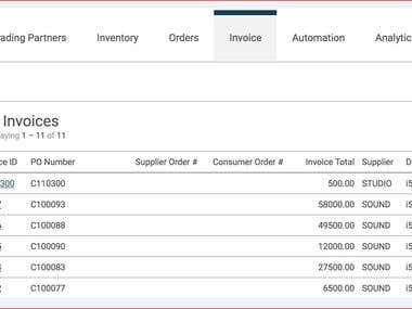 Invoice Data Entry in Excel