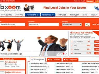 Job portal site