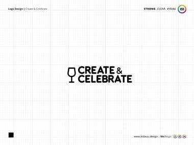 Create & Celebrate | Logo Design