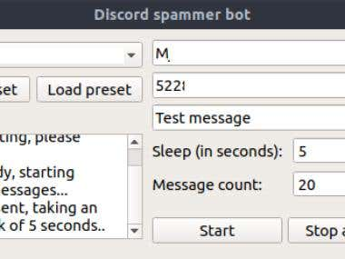 Discord spam userbot
