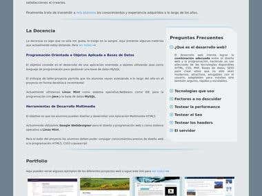 WordPress website - lnoussanl.org