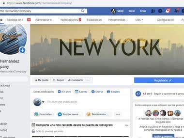 Administradora de página de FaceBook para EE.UU