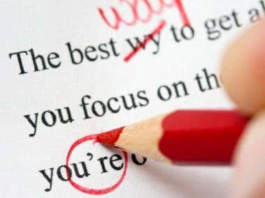 I will proof-read and edit any Word document