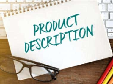 Get a quick product description within 24 hours with the fol