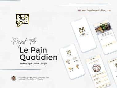 """""""LPQ"""" Mobile App UI/UX Design"""