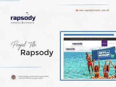 Rapsody Travel   Web