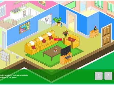 Pesticides in the House - Flash Games