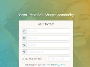 Barter. Rent. Sell. Share. Community.