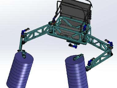 Cleaning system for wind turbine.