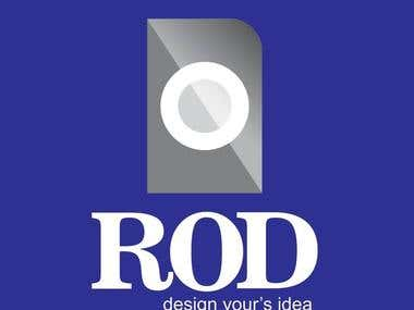 ROD Company Logo Design