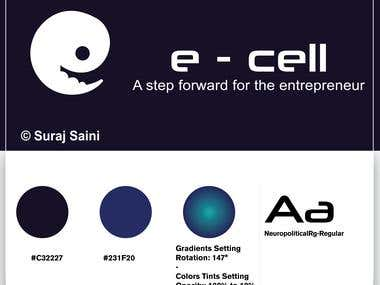 Entrepreneur Cell logo Design