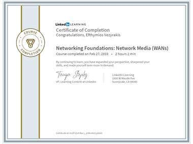 CertificateOfCompletion_Networking Foundations Network Media