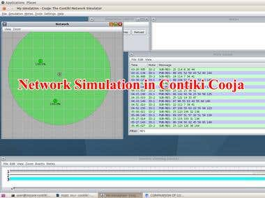 Network Simulation In Contiki Cooja