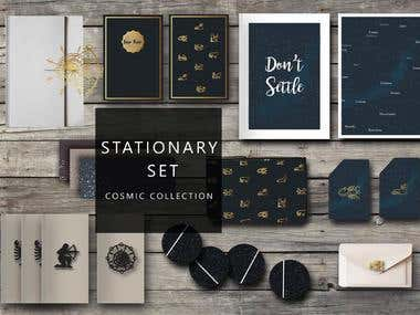Graphics: Stationary Design