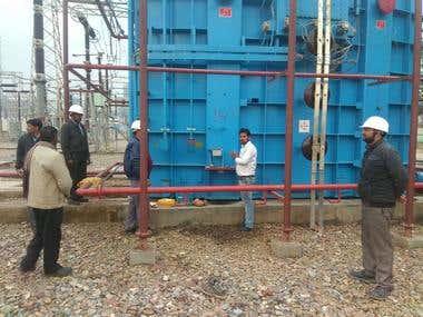 400 KV , 80 MVAR shunt Reactor at RRVPNL