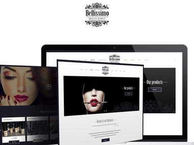 Bellissimo - Creation of a site from scratch